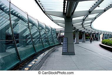 Futuristic city - Hong Kong