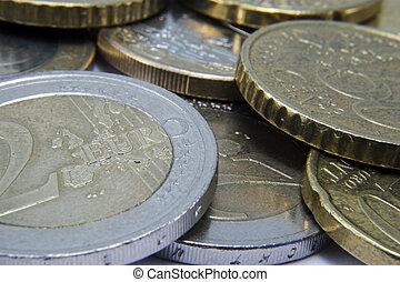 Euros - A pile of euros