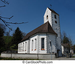 Swabian Church - A beautiful church typical for the area...