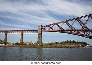 Forth road bridge, Edinburgh