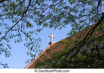 Stone Gable Cross - Church in the heartland, Fairfield,...