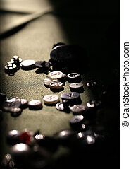 buttons mood - button collection with sunbeam