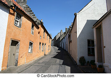 Cottages Culross, Fife, Scotland