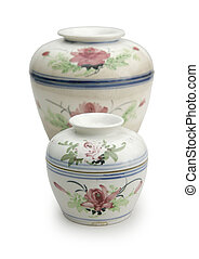 Chinese ceramics - Chinese Bowl-pots, where the tops are...