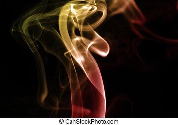 Smoke WIth Colored Lighting