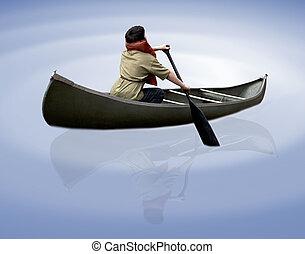 canoe - a canoe