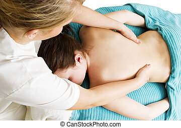 Massaging Detail