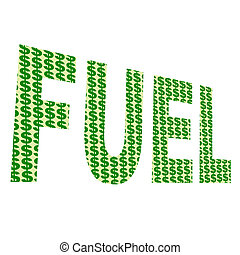 "Fuel Ilustration - A illustration about rising \""FUEL\\\""..."