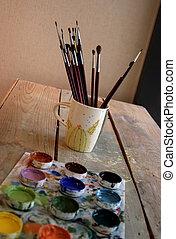 Artist supplies