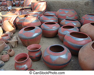 Earthenware - African pottery collection