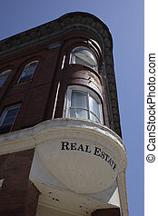 Prime Real Estate - Vintage corner building with a real...