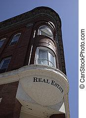 Prime Real Estate - Vintage corner building with a real...