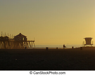 Huntington pier - huntington beach, California