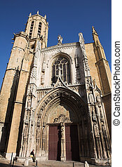 Aix-en-provence #1 - The Cathedrale Sainte Sauveur in...