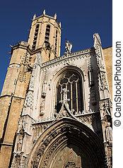 Aix-en-provence #10 - The Cathedrale Sainte Sauveur in...