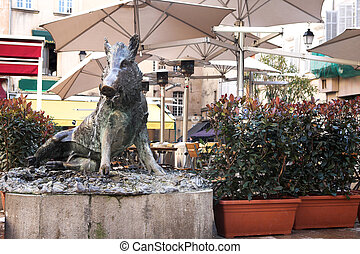 Aix-en-provence #41 - Statue in Aix-en-provence, France.