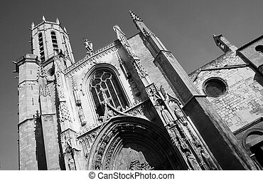 Aix-en-provence #5 - The Cathedrale Sainte Sauveur in...