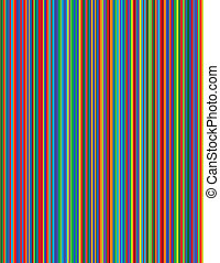 Multicolor Background - An image of bright pinstripes.