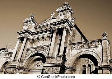 Aix-en-provence #69 - The church of the Madeleine in...