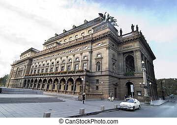 National Theatre - That National Theatre in Prague, Czech...