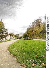 Prague Park - Mala Strana - Mala Strana park in Prague...