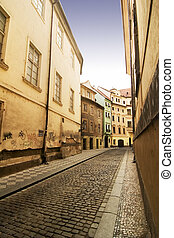 Quaint Street Prague