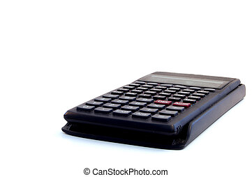 Scientific calculator - close up of scientific calculator in...