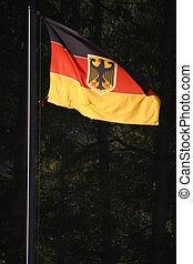 deutsch, Fahne