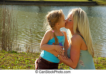 Mother Daughter - Mother love