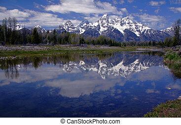 Teton Reflection 2 - Teton Range