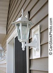 porch light - a porch light