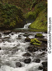 Bridal Veil Creek - Columbia River Gorge
