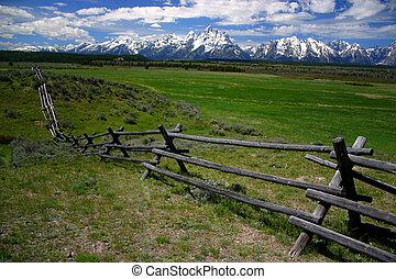 Teton Fenceline 2 - Teton Range