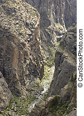 black canyon - Black canyon of the Gunnison