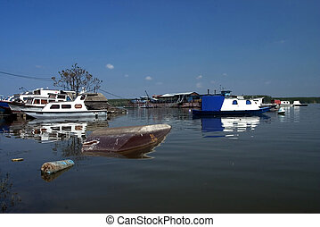 boats in the water