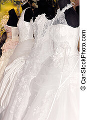 Wedding 1 - Wedding gowns on manequens