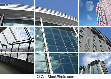 bâtiments, moderne