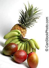 bananas and mangoes - nino bananas and mangoes with...