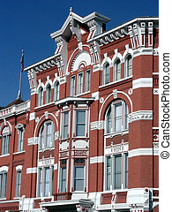 Historic Hotel - The historic Strator Hotel in Durango,...