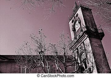 Aix-en-provence 85 - The clocktower of Hotel de Ville in...