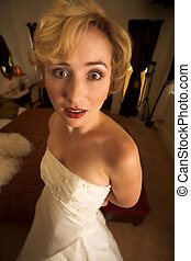 Anorexic03 - A really thin bride - Lose weight for your...