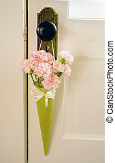 May Day - Photo of carnations on May Day