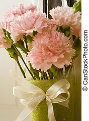 May Day Carnations - Photo of carnations on May Day