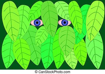 Stalker - Illustration of a stalker