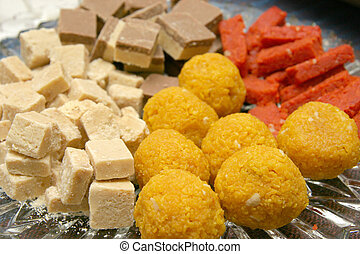Indian candy - Assortment of indian candies for auspicious...