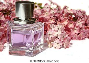 lila, perfume