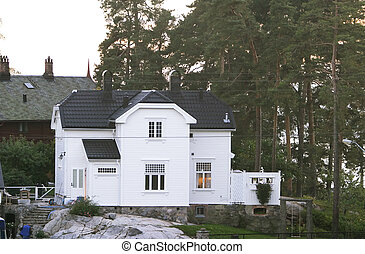 Old House - An old 1900s house in Nordstrand, Oslo, Norway...