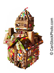 Ginger Bread House - Ginger bread house detail.