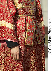 clothes of the Russian Orthodoxy preacher - Russian...