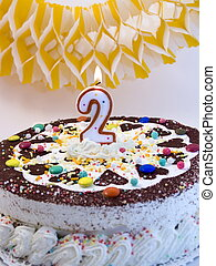 torta, compleanno,  5